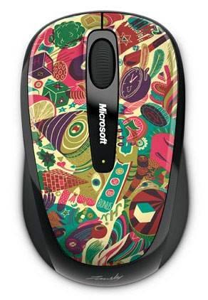 Мышь Microsoft 3500 Artist рисунок/черный - фото 2