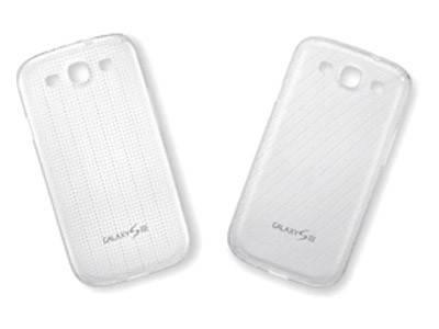 Чехол Samsung EFC-1G6SWECSTD, для Samsung Galaxy S III, прозрачный - фото 1