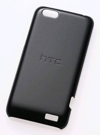 Чехол (клип-кейс) HTC HC C750 черный - фото 1