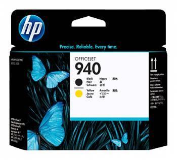 Печатающая головка HP 940 черный/желтый (C4900A)