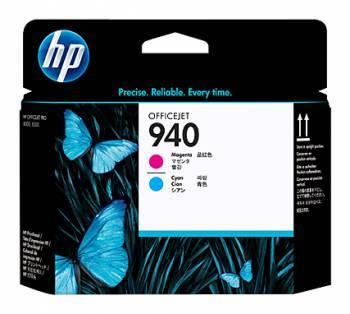 Печатающая головка HP 940 голубой/пурпурный (C4901A)