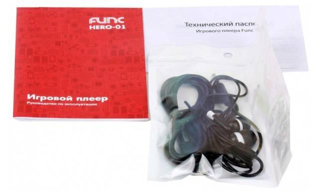 Игровая консоль Func Hero-01 черный - фото 4