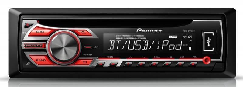 Автомагнитола Pioneer DEH-4500BT - фото 1