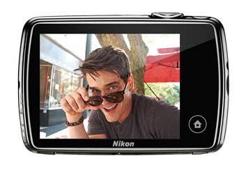 Фотоаппарат Nikon CoolPix S01 серебристый - фото 4