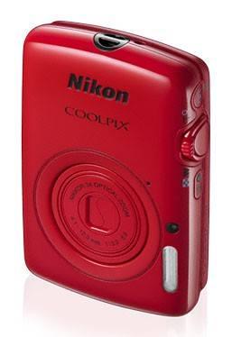Фотоаппарат Nikon CoolPix S01 красный - фото 3
