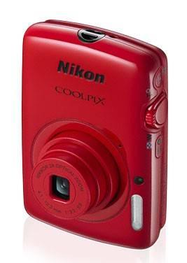 Фотоаппарат Nikon CoolPix S01 красный - фото 4