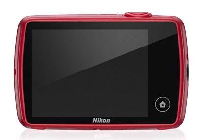 Фотоаппарат Nikon CoolPix S01 красный - фото 6