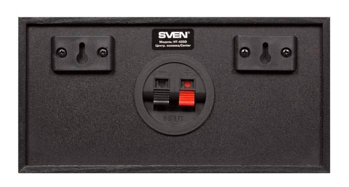 Акустическая система 5.1 Sven HT-435D черный - фото 2