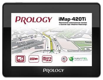 """GPS-навигатор Prology iMAP-560TR 5"""" черный"""