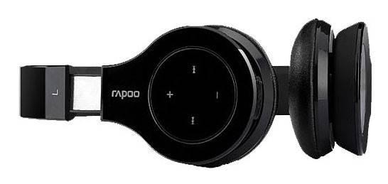Беспроводная гарнитура Rapoo H6060 черный - фото 3