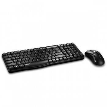 Комплект клавиатура+мышь Rapoo X1800 черный / черный