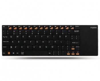Клавиатура Rapoo E2700 Smart TV черный / белый