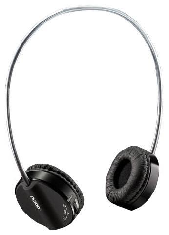 Наушники с микрофоном Rapoo H3050 голубой - фото 1