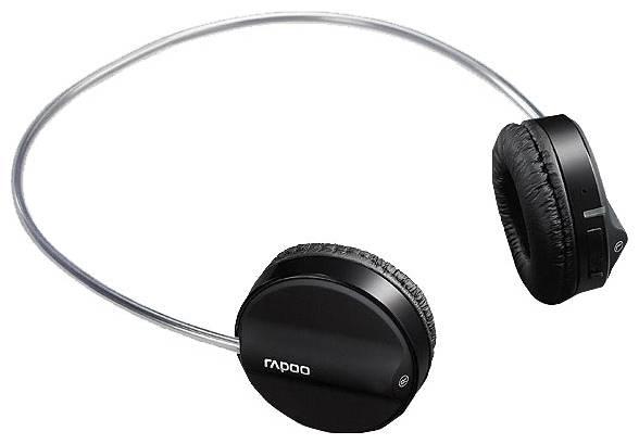 Наушники с микрофоном Rapoo H3050 голубой - фото 2