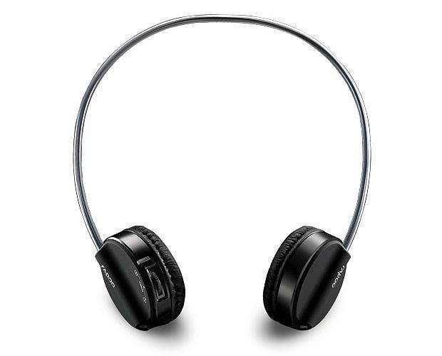 Наушники с микрофоном Rapoo H3070 черный - фото 1
