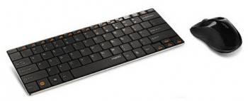 Комплект клавиатура+мышь Rapoo 9020 черный / черный