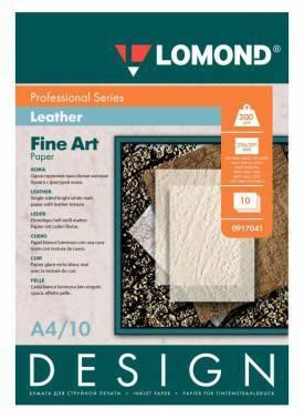 Бумага Lomond (0917041) A4 / 200г / м2 / 10л. белый