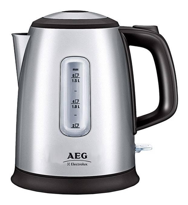Чайник электрический Electrolux EEWA5210 серебристый - фото 1