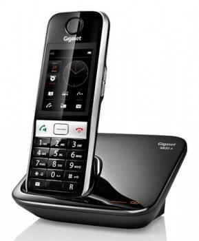 Телефон Gigaset S820A черный / серебристый
