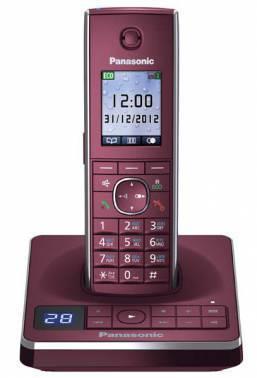 Телефон Panasonic KX-TG8561RUR красный