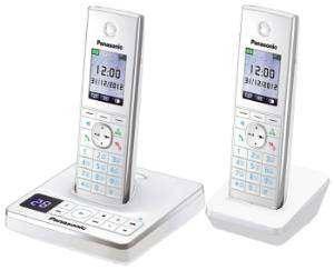Телефон Panasonic KX-TG8562RUW белый