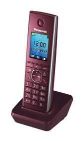 Дополнительная трубка Panasonic KX-TGA855RUB черный