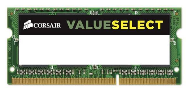 Модуль памяти SO-DIMM DDR3 4Gb Corsair CMSO4GX3M1A1600C11 - фото 1