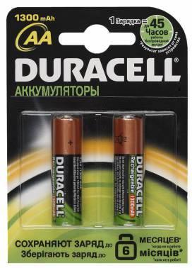 Аккумулятор AA Duracell HR6-2BL (2шт)