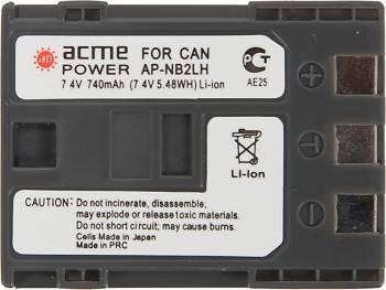 Аккумулятор для компактных камер и видеокамер AcmePower NB-2LH (AP-NB-2L)