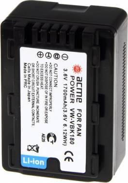 Аккумулятор для видеокамер AcmePower AP-VBK180 (AP-VBK-180)
