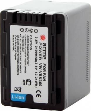 Аккумулятор для видеокамер AcmePower AP-VBK360 (AP-VBK-360)
