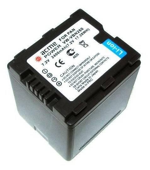 Аккумулятор для видеокамер AcmePower AP-VBN260 - фото 1