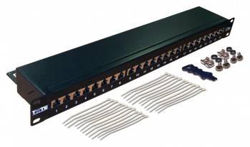 Патч-панель Lanmaster TWT-PP24STP 19 1U 24xRJ45