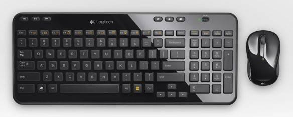 Комплект клавиатура+мышь Logitech MK365 черный/черный - фото 1