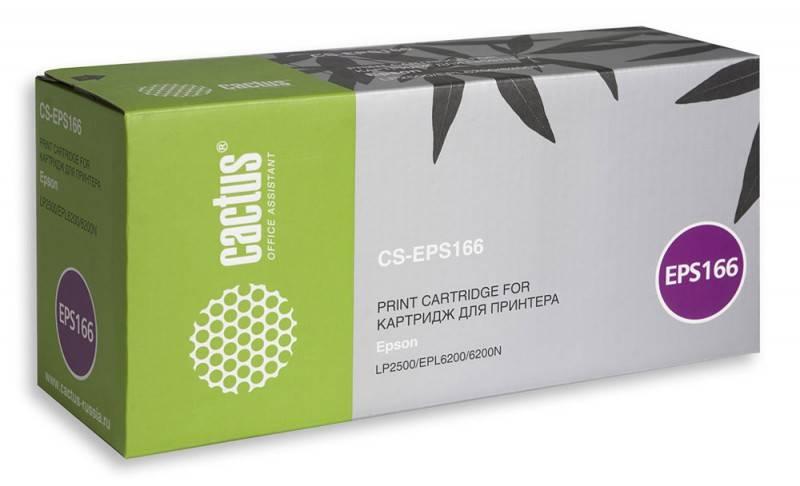 Тонер Картридж Cactus CS-EPS167 черный - фото 1