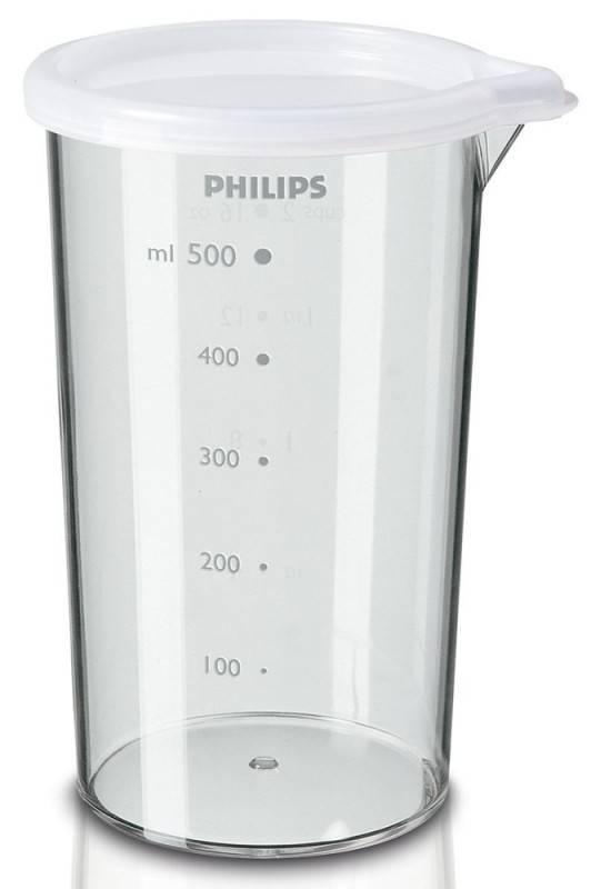 Блендер погружной Philips HR1601 белый - фото 6