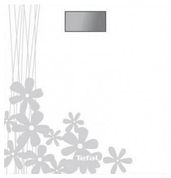 Весы напольные электронные Tefal PP1005V0 белый / рисунок