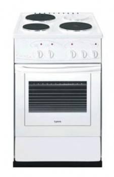 Плита электрическая Лысьва ЭП 301 MC белый, без крышки