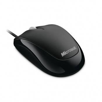 Мышь Microsoft 500 Compact черный (U81-00083)