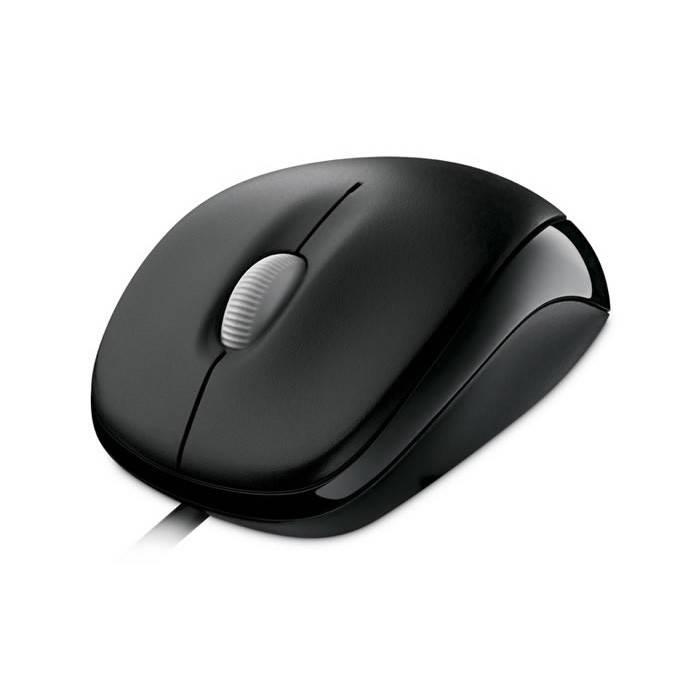 Мышь Microsoft 500 Compact черный - фото 3