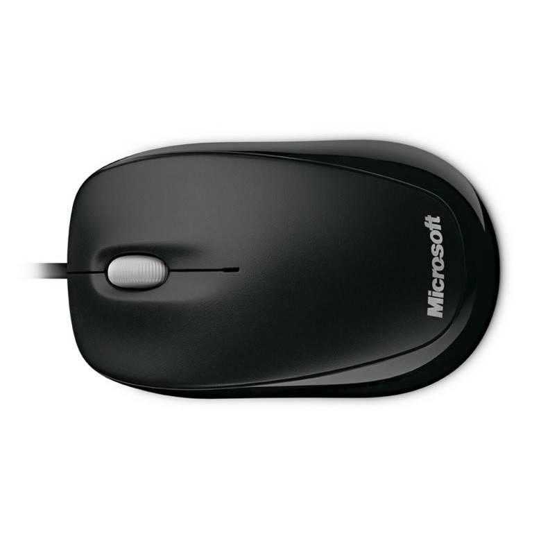 Мышь Microsoft 500 Compact черный - фото 6