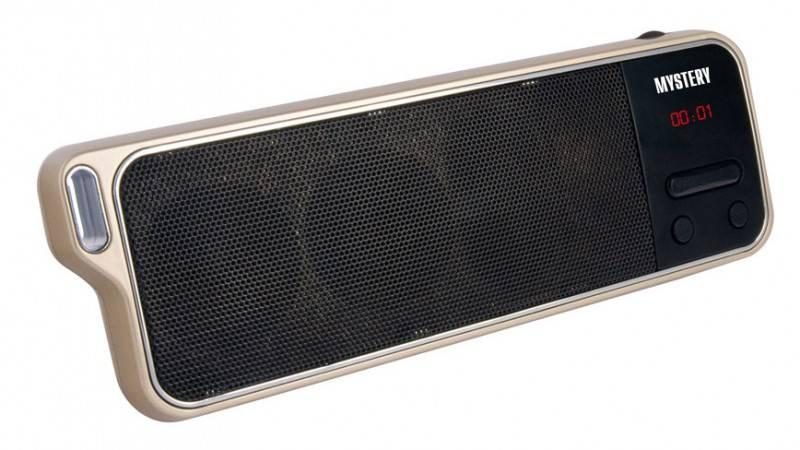 Магнитола Mystery MSP-115 серебристый/черный - фото 1