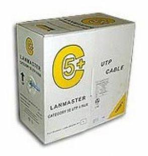 Кабель Lanmaster LAN-5EUTP-GN зеленый 305м