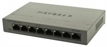Коммутатор неуправляемый NetGear GS308-100PES