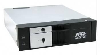 Сменный бокс для HDD AgeStar SMRP2 SATA III черный