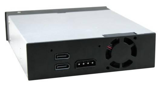 Сменный бокс для HDD AgeStar SMRP2 SATA III черный - фото 2