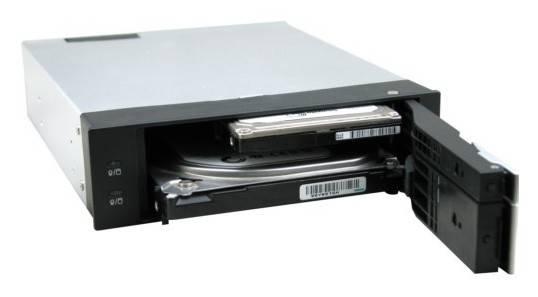 Сменный бокс для HDD AgeStar SMRP2 SATA III черный - фото 3