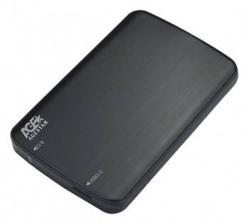 Внешний корпус для HDD/SSD AgeStar 3UB2A12 SATA черный