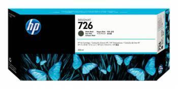 Картридж струйный HP 726 черный матовый (CH575A)
