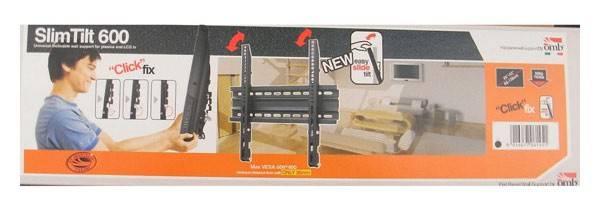 Кронштейн для телевизора OMB SLIM TILT 600 черный - фото 3